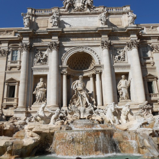 Rome, Italy Trevi Fountain